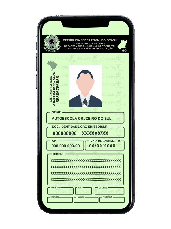carteira de motorista aparecida de goiânia